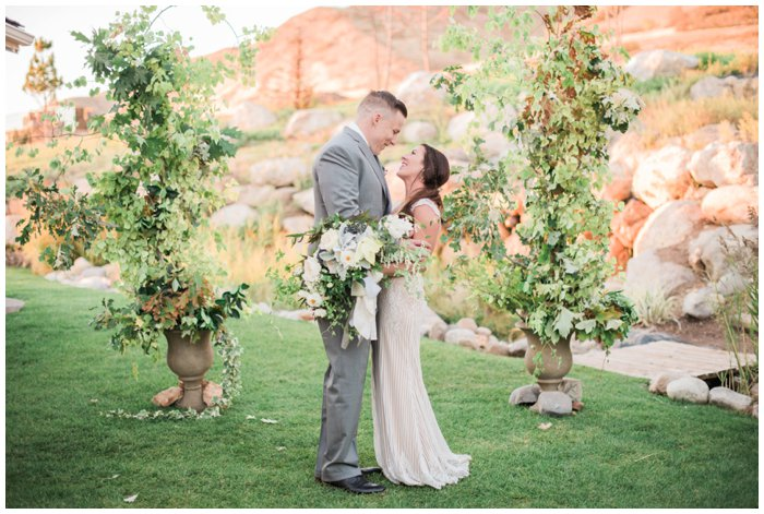 Christine and Taylor | Boise Wedding Photographer Stephanie Mballo