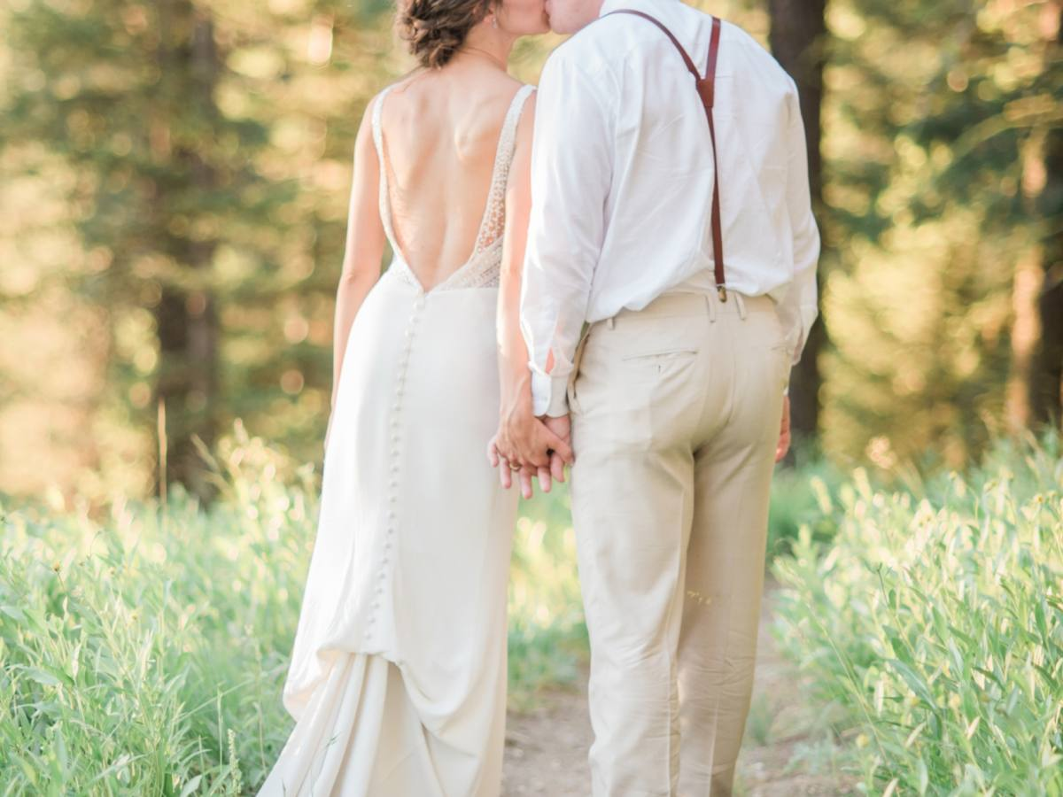 Courtney and Joel | McCall Wedding Photographer Stephanie Mballo Photography